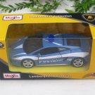 "Maisto Motorized 4.5"" Diecast Car Lamborghini Gallardo LP 560-4 Polizia (Blue)"