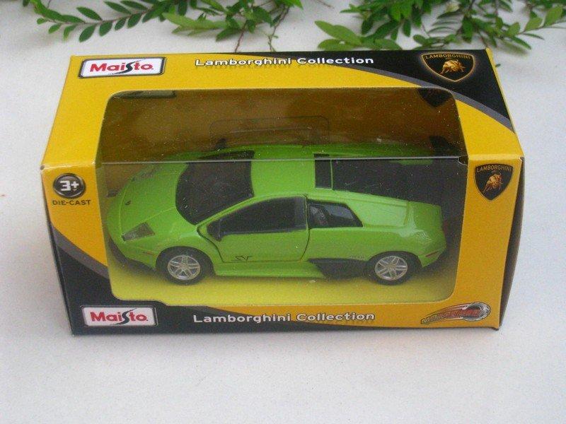 Maisto Motorized (11cm) Diecast Car Lamborghini Murcielago LP 670-4 SV (Green)
