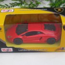 Maisto Motorized (11cm) Diecast Car Lamborghini Aventador LP 700-4 (Red/Orange)