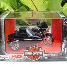 Maisto 1/18 Diecast Harley- Davidson 1998 FLHT ELECTRA GLIDE STANDARD (Sidecar)