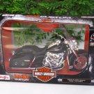 Maisto 1/12 Diecast Harley Davidson (2013) FLHRC Road King Classic Black BIKE