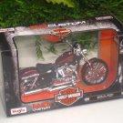 Maisto 1/12 Diecast Harley Davidson 2012 XL 1200V SEVENTY-TWO (Maroon) 17cm