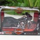 Maisto 1/12 Die cast Harley Davidson 2015 STREET GLIDE SPECIAL (Black) 17cm