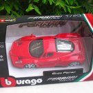 Bburago 1/43 Ferrari Diecast Car Model Enzo Ferrari (Red) 10cm