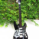 Handicraft Wooden Toy Miniature Instruments SEMI EXCLUSIVE Guitar Black (24cm)