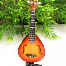Handicraft Wooden Toy Miniature Instruments Mandolin (15cm)