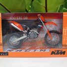 Automaxx 1/12 Diecast Motorcycle KTM 450 EXC 2009 Supermoto Black/Orange