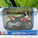Maisto 1/18 Special Edition Diecast Motorcycle KTM 450 Rally Bike (Orange) 2014