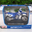 Maisto 1/18 Special Edition Diecast Motorcycle Motocross Bike Yamaha TTR250 #119 (Blue)