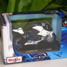 Maisto 1/18 Special Edition Diecast Motorcycle BMW HP2 Sport (White) 2008