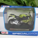 Maisto 1/18 Special Edition Diecast Motorcycle BMW S1000RR (GREEN) 2010