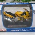 Maisto 1/18 Special Edition Diecast Motorcycle Honda CBR 600F4 (Yellow)