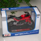 Maisto 1/18 Special Edition Diecast Motorcycle Ducati Multistrada 1200S 2010 (Red)