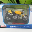 Maisto 1/18 Special Edition Diecast Motorcycle DUCATI SPORT 1000 (Yellow )