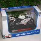 Maisto 1/18 Special Edition Diecast Motorcycle Ducati 848 (WHITE) 2008