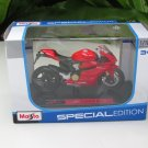 Maisto 1/18 Special Edition Diecast Motorcycle Ducati 1199 Panigale (Red) 2011