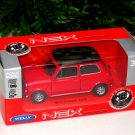 Welly NEX Diecast Model Car Mini Cooper 1300  RED 1-38 (10cm)