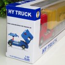 HY Truck 1/50 Diecast Car Container Truck Red (31cm)