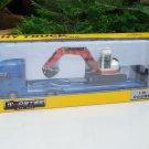 HY Truck 1/50 Diecast Low Loader Truck (31cm) Carrier Crawler Excavator