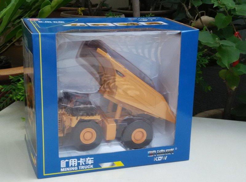 Kaidiwei 1/75 Die cast Construction Vehicle Mining Truck YELLOW (19cm)