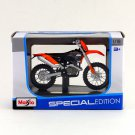 Maisto 1/18 Special Edition Diecast Motorcycle 2008 KTM 450 EXC Racing (ORANGE)