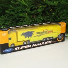 Welly 1/87 Diecast car Model  SCANIA Trucks Container Trucks Yellow (19cm)