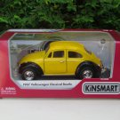 "Kinsmart (5"") Die cast 1967 VW Volkswagen Classical Beetle Yellow Classical Car"