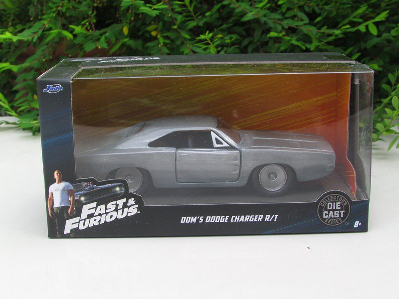 Jada  1-32 Fast & Furious Series -   Dom's Dodge Charger R/T Bare Metal 1970