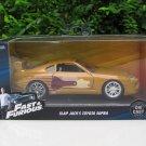 Jada  1-32 Fast & Furious Series -Slap Jack 1993 Toyota Supra Turbo MK IV Fast 2