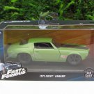 Jada  1-32 Fast & Furious Series - 1973 Chevy Camaro F-Bomb Green Coupe Fast 4