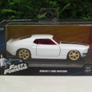 Jada  1-32 Fast & Furious Series - Roman Pearce 1969 Ford Mustang GT White Fast 6