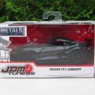 JADA 1/32 Diecast Car JDM Tuners TOYOTA FT-1 CONCEPT Black