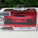 JADA 1/32 Diecast Car JDM Tuners TOYOTA FT-1 CONCEPT Red