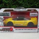 JADA 1/32 Diecast JDM Tuners 2002 HONDA NSX TYPE-R JAPAN SPEC WIDEBODY Yellow