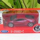 Welly NEX (11cm) Diecast Car Lamborghini Huracan LP 610-4 Red 2015 Sports Car