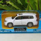 "Top Mark (5"") 1/34 Diecast  Model Car 2013 Toyota Land Cruiser (White)"