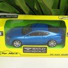 Top Mark 1/43 Diecast Model Car BENTLEY CONTINENTAL GT Blue