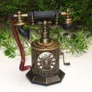Table Lighter - Antique Telephone Model TP - 1802 BRONZE (13cm)