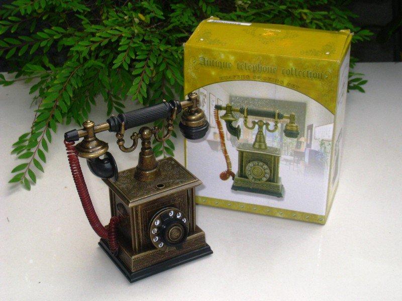 Table Lighter - Antique Telephone Model TP1801 (13cm)