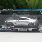Jada Fast & Furious Series - 1/18 Brian's 2009 Nissan Skyline GTR (R35) Silver