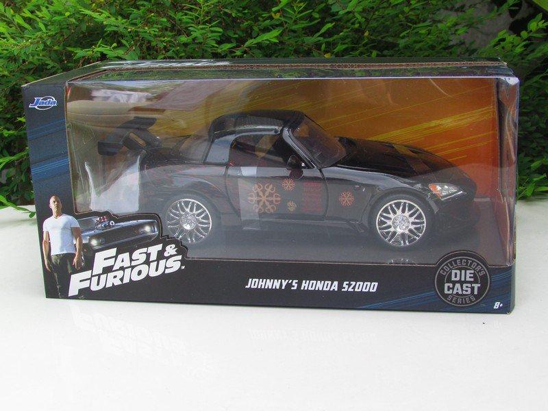 Jada 1-24 Fast & Furious Series -  Johnny Tran´s 2000 Honda S2000 BLACK