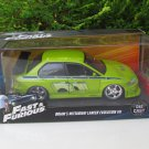 Jada 1-24 Fast & Furious Series - BRIAN'S MITSUBISHI LANCER EVO VII 2002 Green