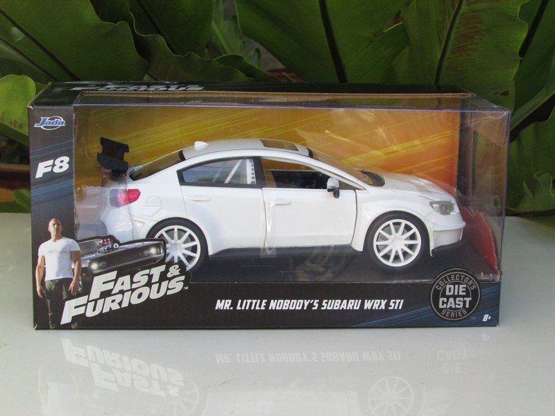 Jada 1-24 Fast & Furious Series -  Mr Little Nobody's Subaru WRX STI 2016 White