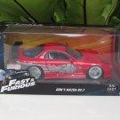 Jada 1-24 Fast & Furious Series - Dom's 1993 Mazda RX-7 FD3S Red