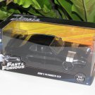 Jada 1-24 Fast & Furious Series -  Dom's Plymouth GTX 1972 Black