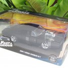 Jada 1-24 Fast & Furious Series - DOM'S DODGE CHARGER R/T 1970 Matte Black