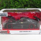 JADA 1/24 Diecast Car JDM Tuners 1993 MAZDA RX-7 FD Black Japan Sport Car