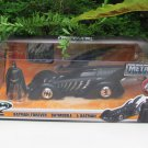 JADA 1/24 Movie Car DC Comics Batmobile & Batman Forever (The Kilmer Mobile)1995