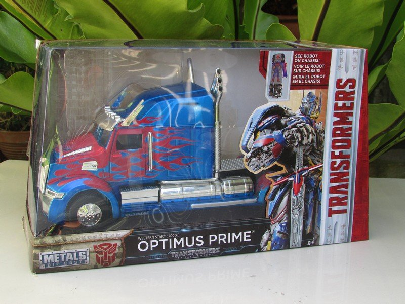 JADA 1/24 Movie Car TRANSFORMERS 5 OPTIMUS PRIME Western Star 5700XE Phantom