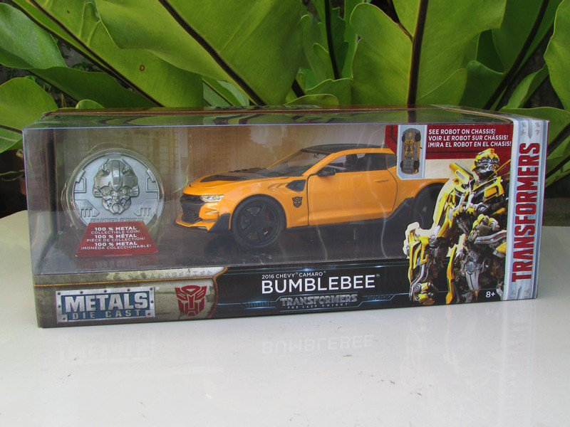 JADA 1/24 Movie Car TRANSFORMERS 5 BUMBLEBEE 2016 CHEVROLET CHEVY CAMARO